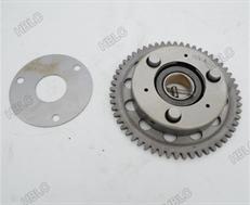 Almencla Motor Anlasser Zahnrad Leerlauf F/ür CG125 CG200 CG250 150cc 200cc 250cc